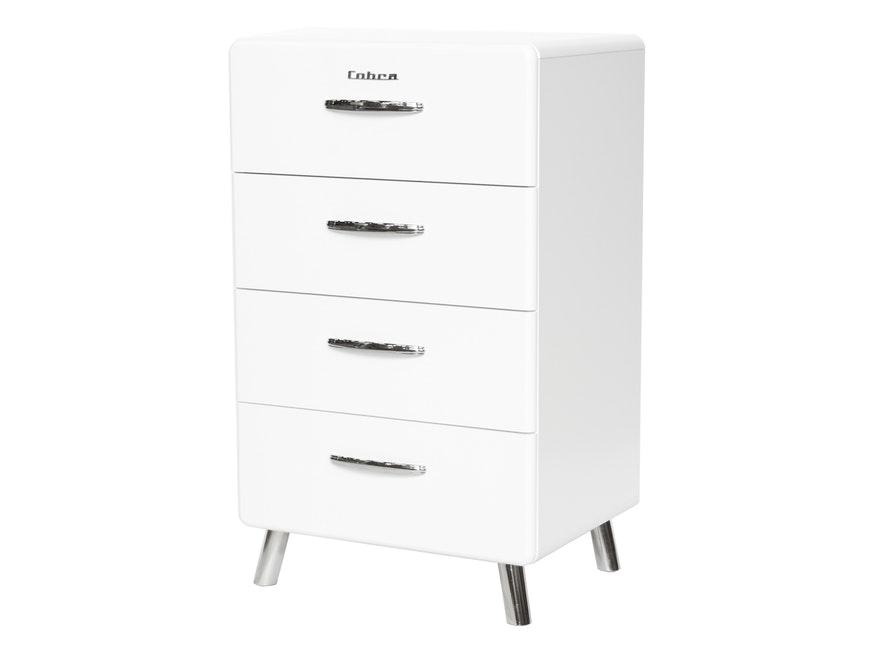 Kommode Cobra 56 Mit 4 Schubladen Weiss Msp Furniture Salesfever De