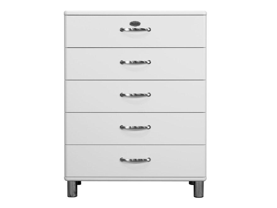 Kommode Malibu 86 Mit 5 Schubladen Weiss Msp Furniture Salesfever De