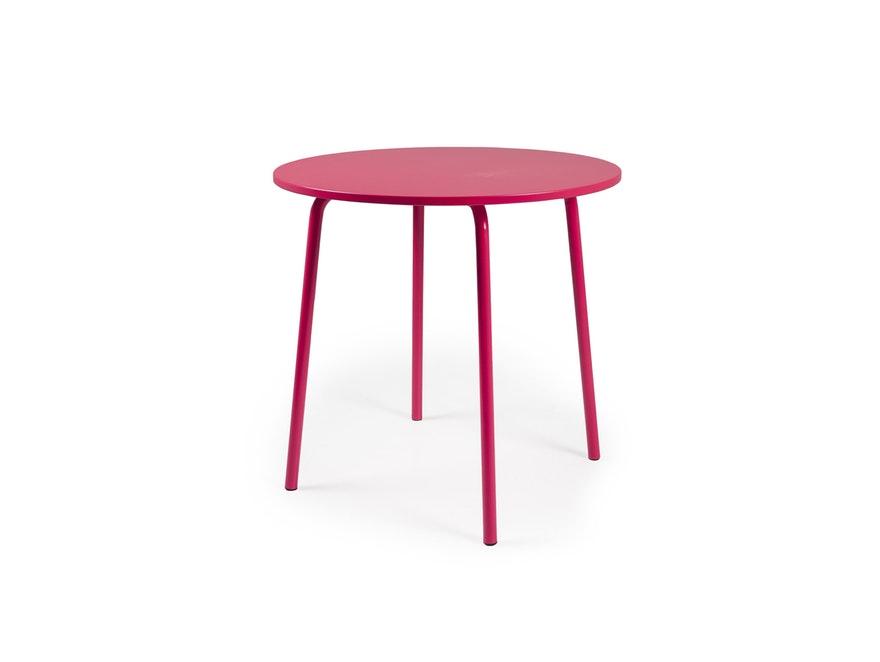 esstisch lolly rund 90 cm hellrot msp furniture. Black Bedroom Furniture Sets. Home Design Ideas