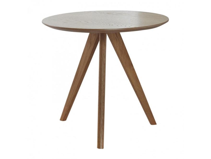 Beistelltisch Fabian Massivholz Rund 48 Cm Msp Furniture