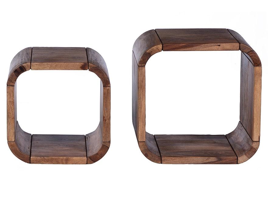 Gut SIT Möbel Regal Set Quadratisch Goa Ineinander Stellbar N 9758 7286   1