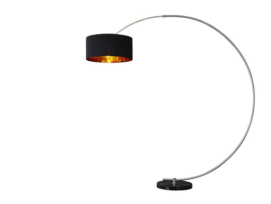 Stehleuchte Bow schwarz gold » Interior Home – Salesfever.de