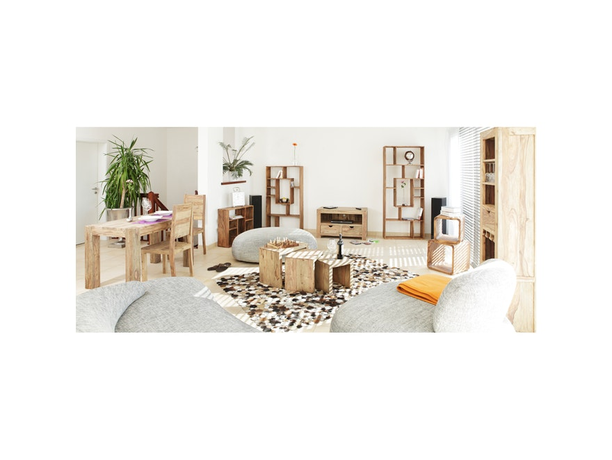 couchtisch 3 satz yoga indien wolf m bel. Black Bedroom Furniture Sets. Home Design Ideas