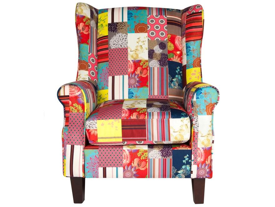 Sessel Racco Patchwork Samt Sit Möbel Salesfeverde