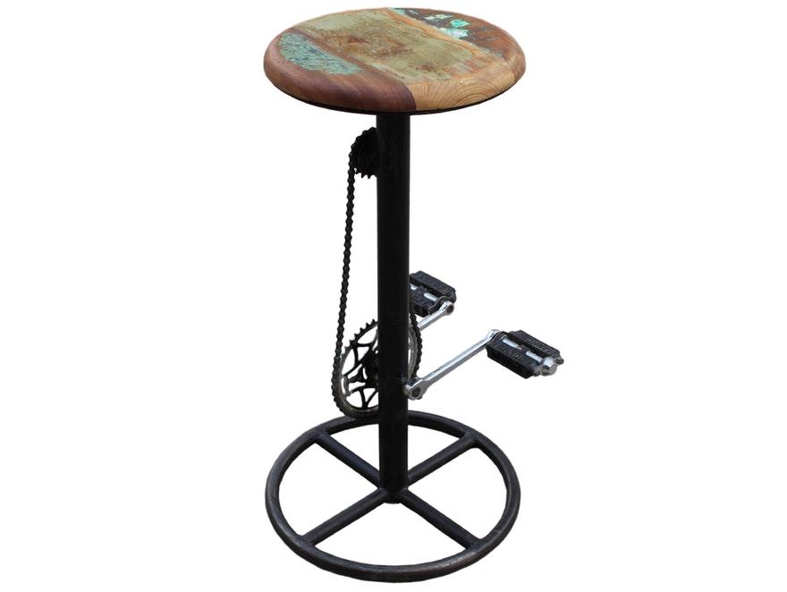 Barhocker Bicycle Mit Kette Und Pedalen Sit Möbel Salesfeverde