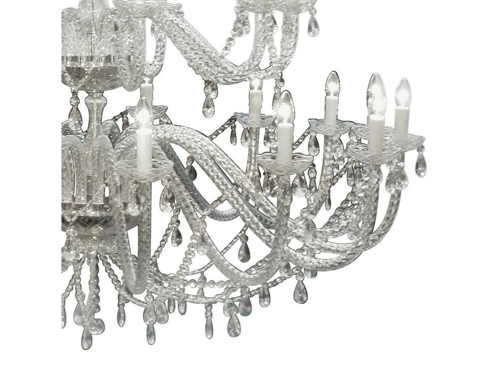 Designer Kronleuchter Kristall Kronleuchter Gioiello Kristall 30 Flammig »  KARE Design .