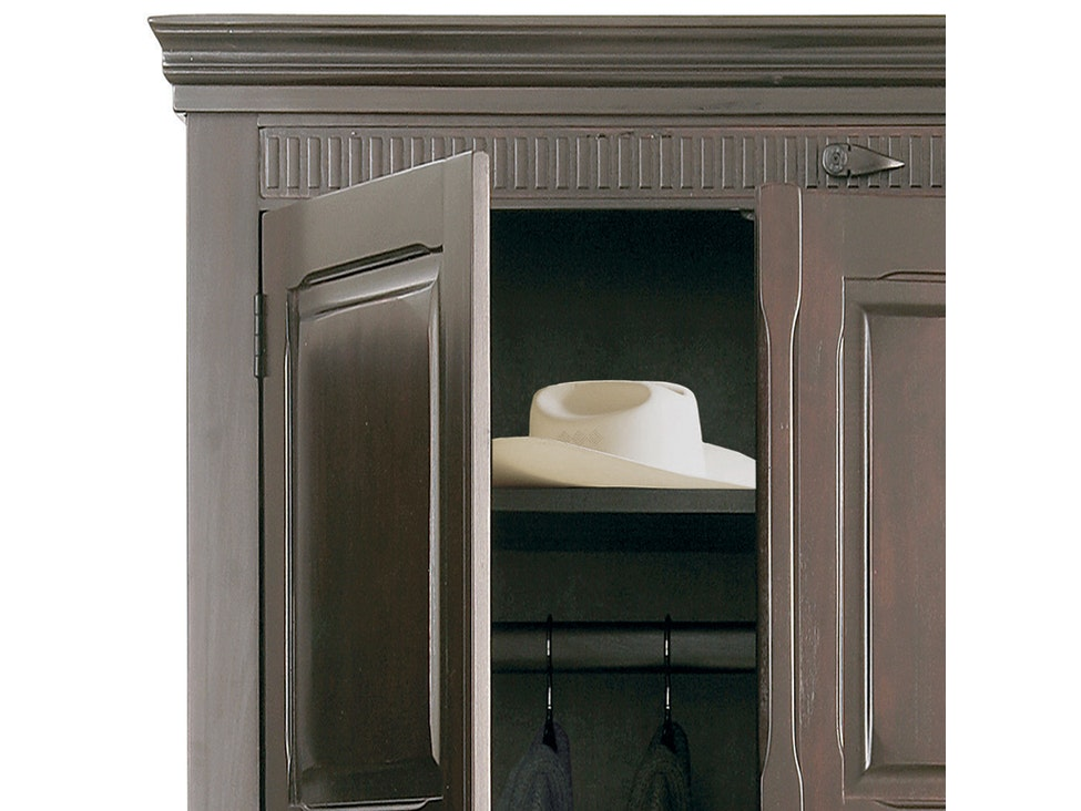 Kleiderschrank Cabana Pappel Massivholz 4 Türen » KARE Design ...