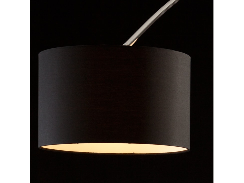Bogenlampe Mit Dimmer ~ Bogenlampe alumi groß mit dimmer schwarz salesfever u salesfever