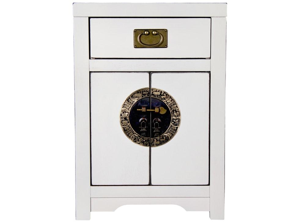 Schrank Peking klein 2 Türen Ming Dynastie weiß » SIT Möbel ...