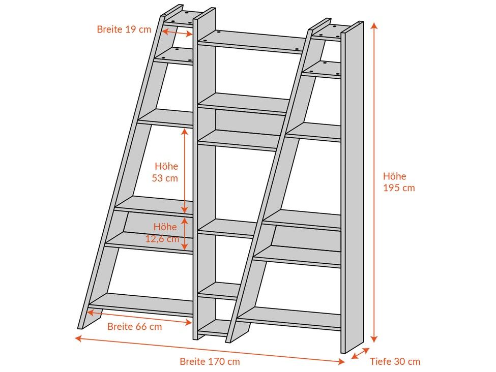 regal tiefe 30 cm top regal tiefe cm schrank breit m. Black Bedroom Furniture Sets. Home Design Ideas