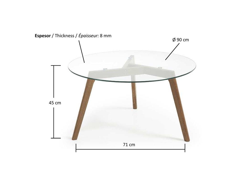 couchtisch rund 80 cm affordable neu design couchtisch. Black Bedroom Furniture Sets. Home Design Ideas