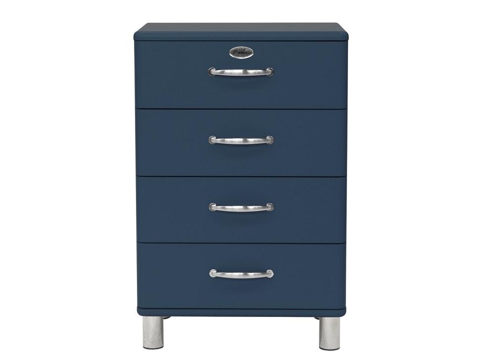 Kommode Malibu 60 Mit 4 Schubladen Petrol Msp Furniture