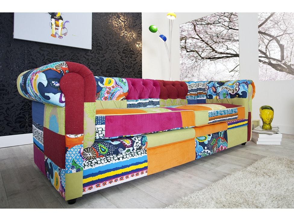 Bunte Sofas sofa highline patchwork bunt interior home salesfever de