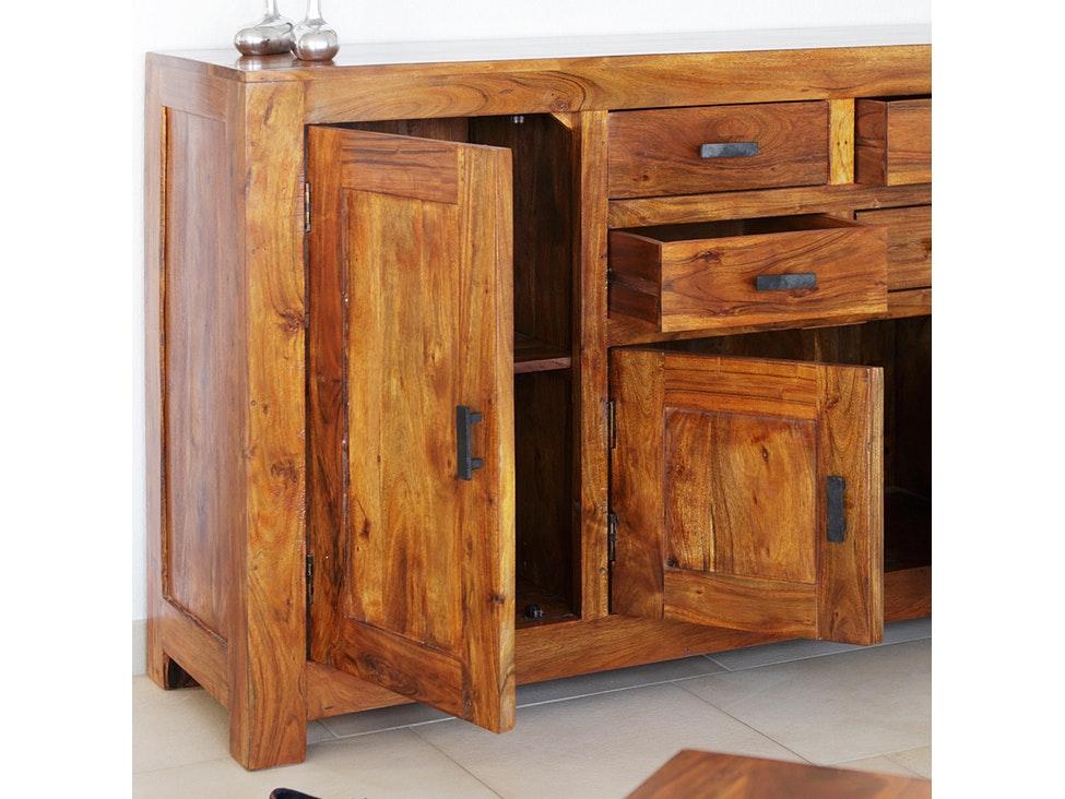 mbel akazie cheap wohnwand akazie in lava teilmassiv u woody mbel with mbel akazie trendy wolf. Black Bedroom Furniture Sets. Home Design Ideas
